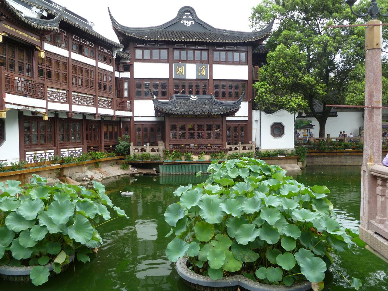 Cina shanghai 2012 - Giardino del mandarino yu ...